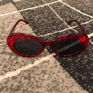 Red Clout Glasses